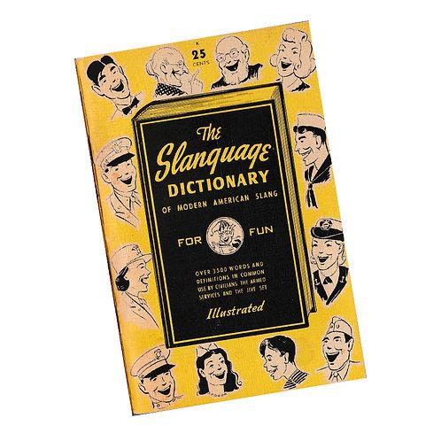 Slanguage Dictionary Booklet - Original 1944