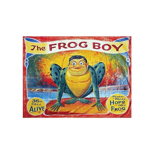 Frog Boy Mini Sideshow Banner