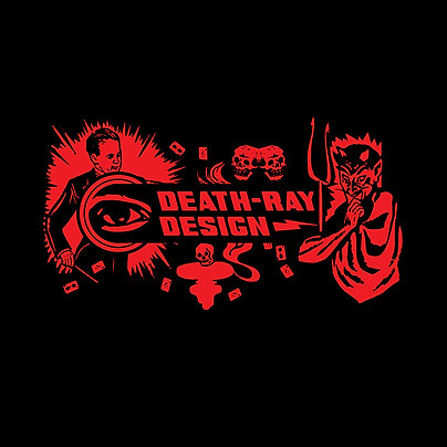 Death-Ray Design T-Shirt