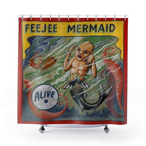 Feejee Mermaid Shower Curtain