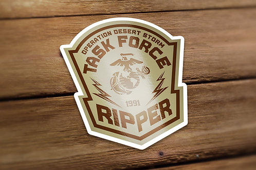 Task Force Ripper Decal