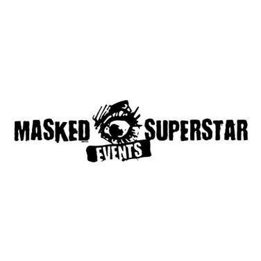 MASKED SUPERSTAR EVENTS LOGO SOCIAL MEDI
