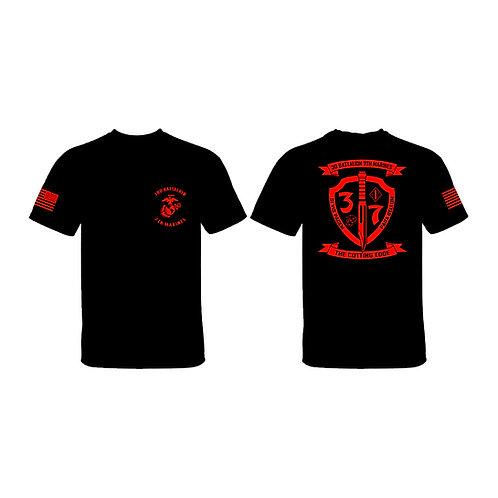 3/7 Red Shield T-Shirt