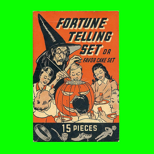 Halloween Banner - Fortune Telling