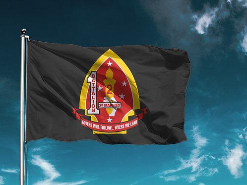 1/2 Flag - Black