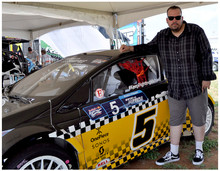 Me with my 1st Global Rallycross Wrap