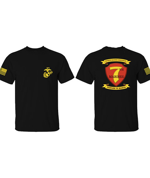7th Marines T-shirt