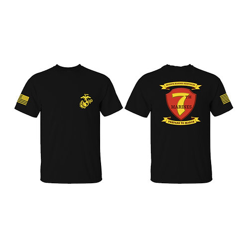 7th Marines T-shirt
