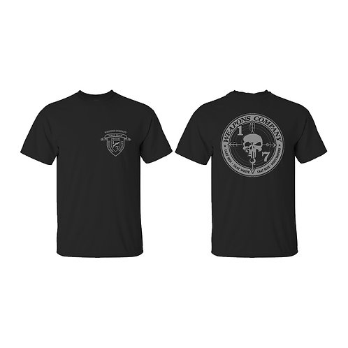 Weapons Company Gray Ink T-Shirt