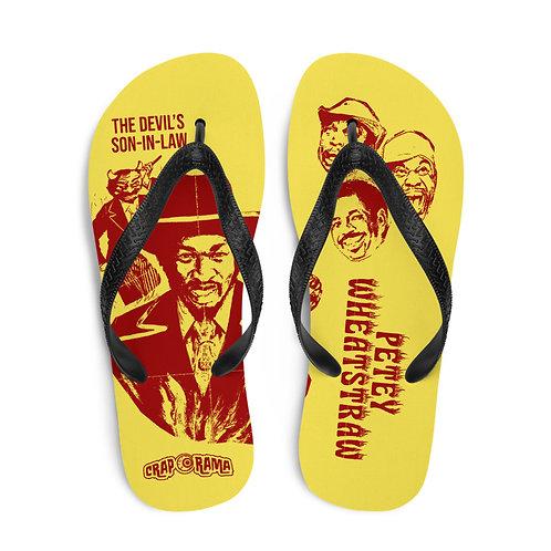 Petey Wheatstraw Flip Flops