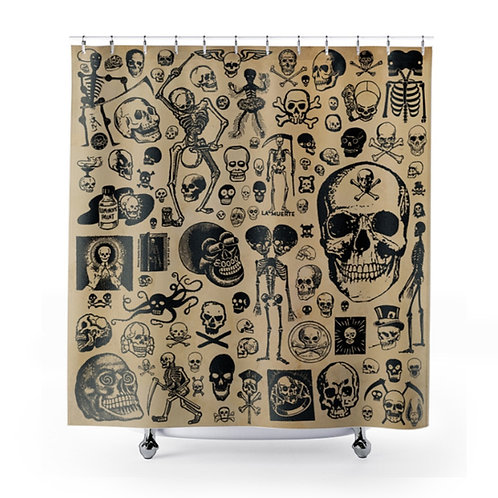 Primitive Skulls Shower Curtain