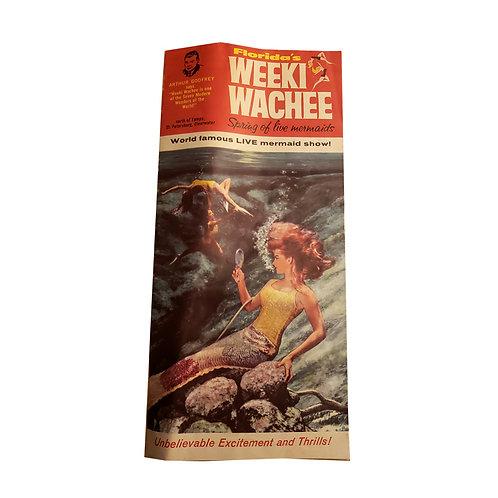 Vintage Weeki Wachee Brochure