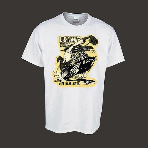 Vintage Gator Navy Hot Rodder Shirt