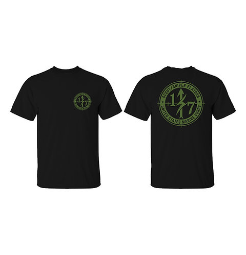 Scout Snipers OD Ink T-Shirt