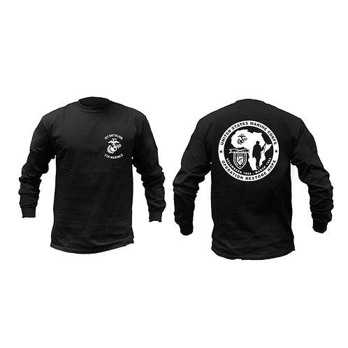 Custom Unit Somalia Long Sleeve - BLACK