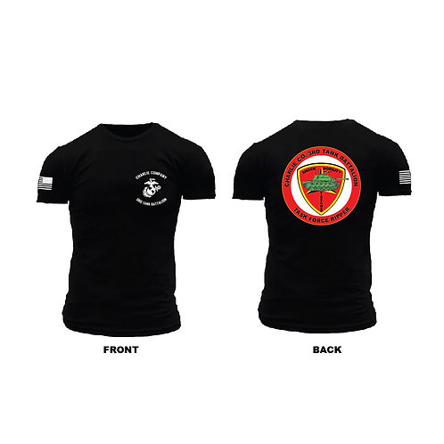 Alpha Co. 3rd Tanks Task Force Ripper T-Shirt
