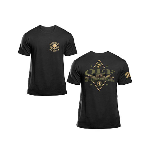 Enduring Freedom Suicide T-Shirt - Black, Tan and OD