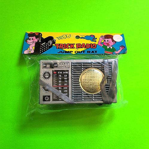 Vintage Trick Radio Gag