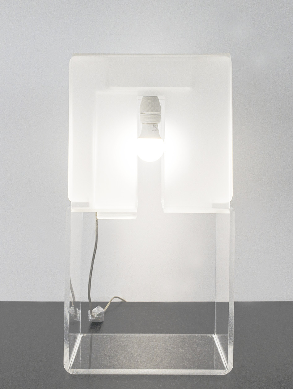 Lamp with window ON