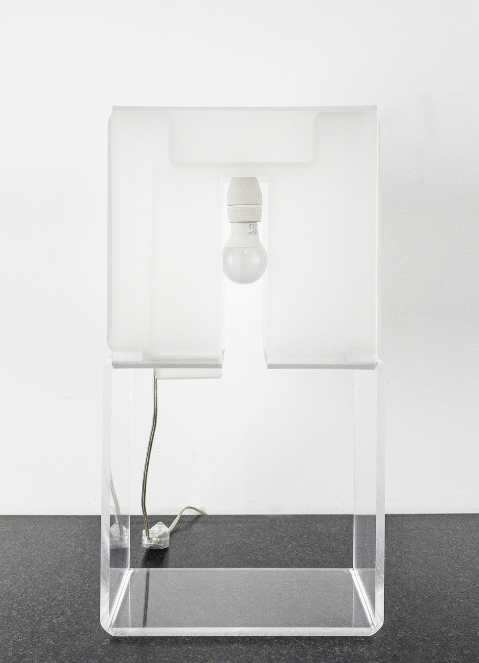 Lamp with window OFF