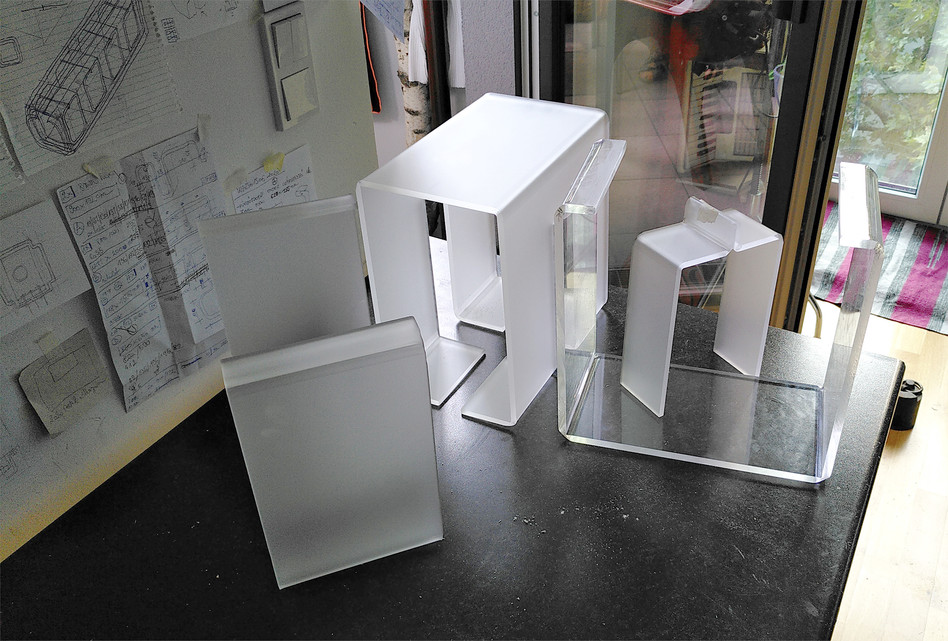 Lamp with window - components