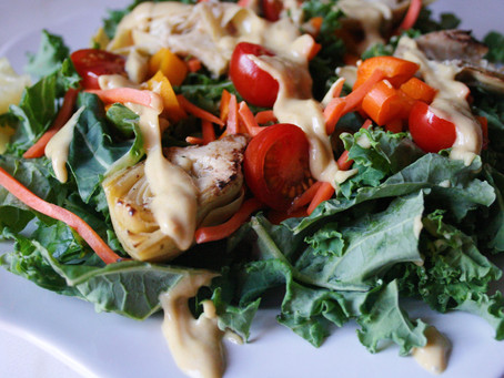 Creamy Tahini Dressing Recipe: An Easy Way to Pack Protein Into Any Salad or Bowl