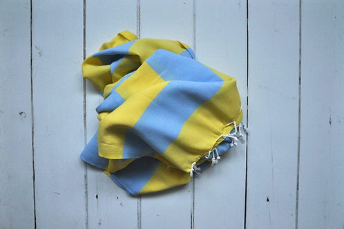 Marmaris Yellow & Baby Blue
