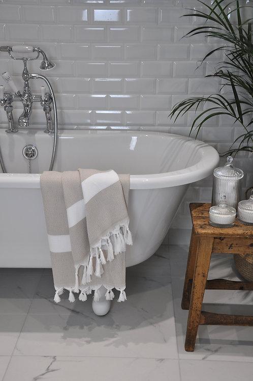 Izmir Latte & White Diamond Towel