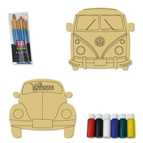 Wood Painting Kits