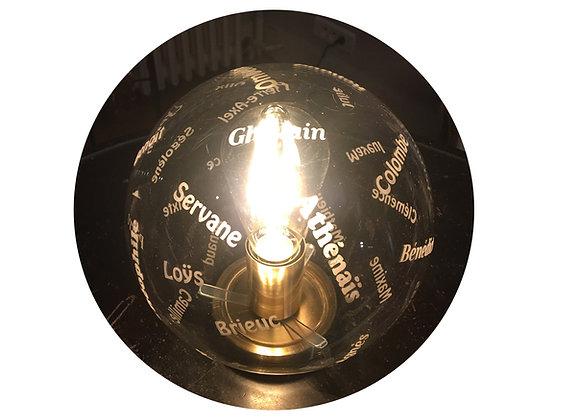 Raoul, la lampe boule