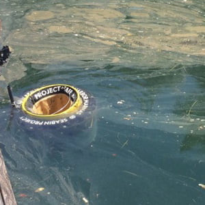 神奈川県が、国内初!海洋プラごみ回収装置(Seabin(シービン)江の島に導入