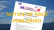 NOTICE OF RACE PUBLISHED