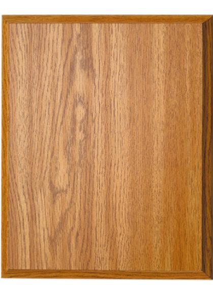 Oak Finished Plaque