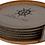 Thumbnail: Leatherette 6 Coaster Set