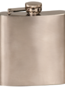 Stainless Steel Flask - 6oz