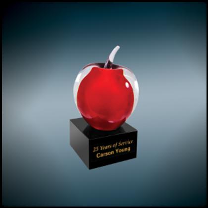 Apple Art Glass