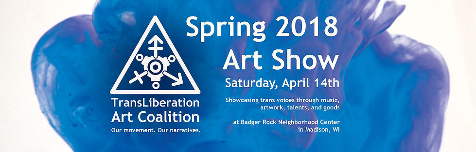 Sprin 2018 Art Show, Saturday April 14th at Badger Rock Neighborhood Center in Madison, WI