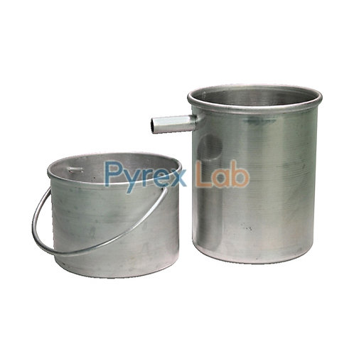 Density Overflow Can And Catch Bucket Aluminum