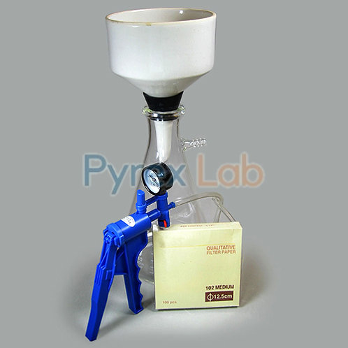Filtering Kit Vacuum Pump with Gauge