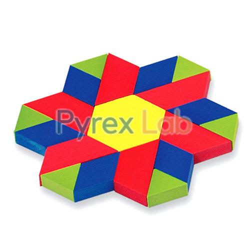 Pattern Block Classroom Set Foam