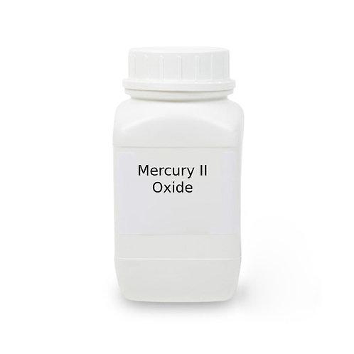 Mercury II Oxide