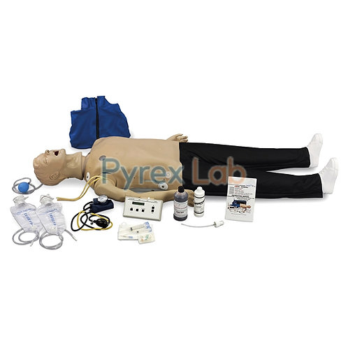 Whole Body Basic CPR Maikin Female With Monitor And Printer