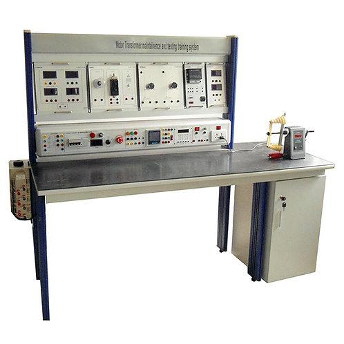 Motor Transformer Maintenance and Testing Training System