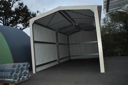 Garage métallique
