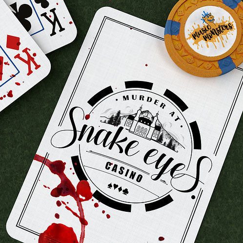 Murder at Snake Eyes Casino: 18+