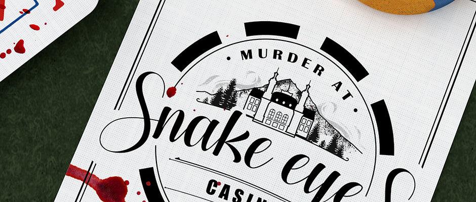 Murder at Snake Eyes Casino: 18+