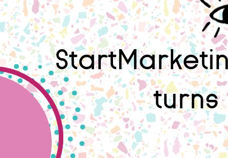 Happy Birthday, StartMarketing!