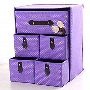 Baby Kids Clothes Storage Fabric Drawer