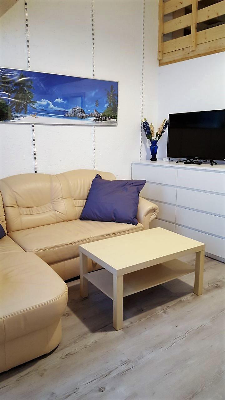 Wohnküche mit Galerie