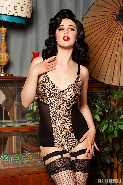 'Leopardess' print